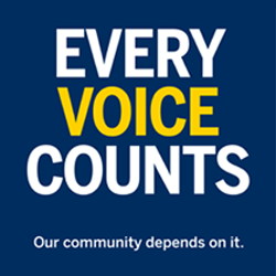 Every Voice Counts Poster